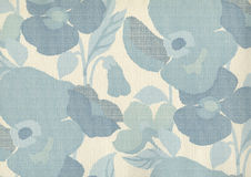 High resolution antique wallpaper with floral pattern Stock Photos