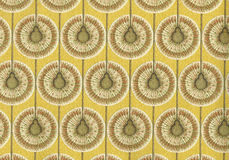 High resolution antique wallpaper with floral pattern Royalty Free Stock Photos