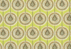 High resolution antique wallpaper with floral pattern Royalty Free Stock Image
