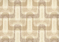 High resolution antique wallpaper with geometry pattern Stock Photography