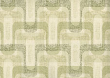 High resolution antique wallpaper with geometry pattern Stock Image