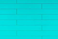 High resolution blue plastic wall background with brick form Stock Image