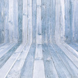 High resolution Blue wood texture background Royalty Free Stock Image