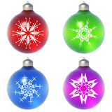 High resolution Christmas ornament Royalty Free Stock Images
