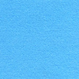 Felt Fabric Texture - Baby Blue Stock Photography