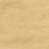 Cotton Fabric Texture - Beige Stock Image