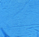 Cotton Fabric Texture - Baby Blue Royalty Free Stock Images