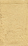 Cotton Fabric Texture - Beige with Seam Royalty Free Stock Photos