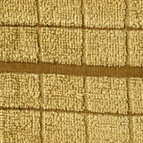 Towel Cloth Texture - Beige Single Stripe Stock Photos