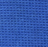 Microfiber Fabric Texture - Blue Stock Photos