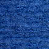 Towel Cloth Texture - Blue Royalty Free Stock Photos