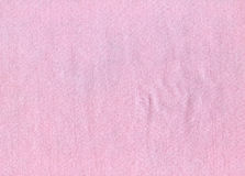 Felt Fabric Texture - Bright Pink Stock Image
