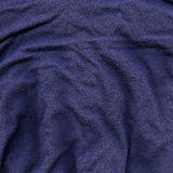 Cotton Fabric Texture - Dark Blue Stock Photo