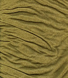 Cotton Fabric Texture - Khaki Stock Image