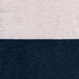 Cotton Fabric Texture - Pastel Pink & Navy Blue. High resolution close up of half pastel pink and half navy blue cotton fabric Stock Photography