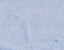 Cotton Fabric Texture - Pastel Blue Stock Photos