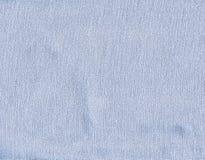 Cotton Fabric Texture - Pastel Blue Stock Photos