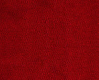 Cotton Fabric Texture - Red. High resolution close up of red cotton fabric Stock Images