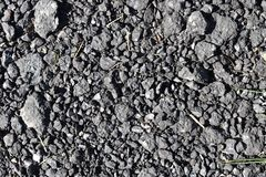 High resolution close up surface texture of gravel on the ground with high detail. Found in germany stock images