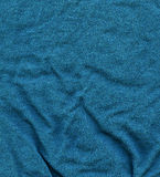 Cotton Fabric Texture - Turquoise Royalty Free Stock Photo