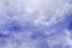 High resolution clouds on blue sky backrounds Royalty Free Stock Image