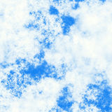 High resolution clouds on blue sky backrounds Royalty Free Stock Photos