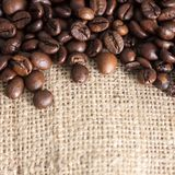 High Resolution Coffee Background With Copy Space Stock Image
