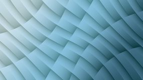 Smoky blue diagonal lines shapes and curves geometric abstract background. High resolution computer generated abstract geometric fractal background design stock illustration
