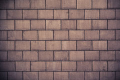 High resolution cream brick wall texture Stock Photography