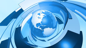 World Globe Graphic Connection Background Royalty Free Stock Image