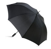 High Resolution and Detail Black Umbrella Royalty Free Stock Image