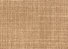 High resolution fabric texture. Light brown Stock Image