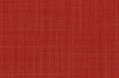 High resolution fabric texture. Red Royalty Free Stock Photos