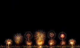 High Resolution Firework Royalty Free Stock Images