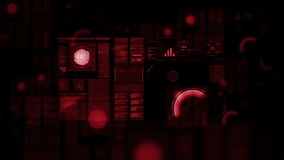 High resolution footage of futuristic interface. stock footage