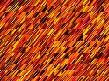 High resolution fractal geometric orange pattern background stock photography