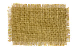 Frayed  fabric canvas Royalty Free Stock Photo