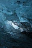 Ice cave wave Stock Photo
