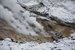 Geothermal volcanic activity in Iceland Royalty Free Stock Photography