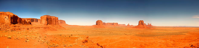 High Resolution Image of Monument Valley Arizona Stock Photo