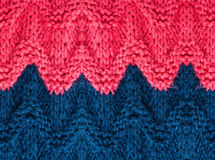 High resolution knitting background texture.  Knit woolen Fabric Royalty Free Stock Photography