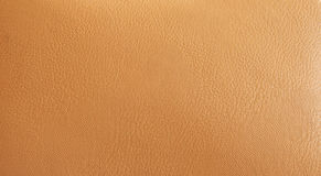 High resolution leather beige background Stock Images