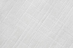 High resolution linen canvas texture background. White linen canvas texture background Royalty Free Stock Image