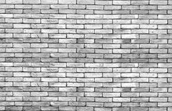 High resolution low key grunge brick wall background.  Royalty Free Stock Photo