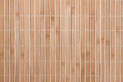 High resolution natural beige bamboo texture. Handmade straw mat useful as texture and background Stock Photography