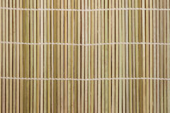 High resolution natural beige bamboo texture. Handmade straw mat useful as texture and background Royalty Free Stock Images
