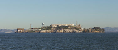 Alcatraz Island Panorama Royalty Free Stock Images