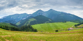 High resolution panorama of mountains  in National Park High Tat Stock Photos
