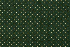 Cotton dot dark green color. High resolution photo. Close up of dark green fabric Stock Photos