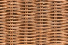 High resolution picture of brown rattan texture. stock images